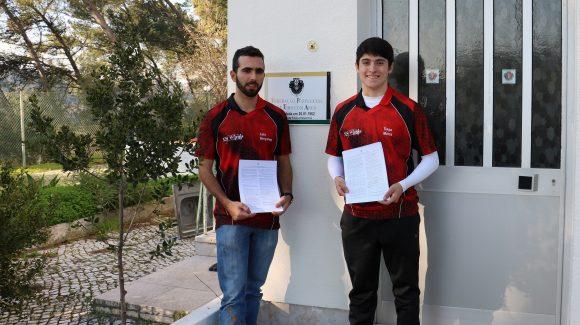 Luís Gonçalves e Tiago Matos Assinam Contratos de Alto Rendimento