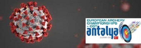 Suspensão do Campeonato da Europa – Antalya 2020